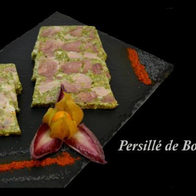 Persillé de Bourgogne (1er prix d'honneur 2016)