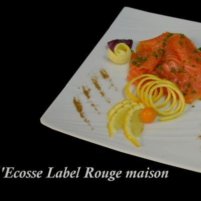 Saumon fumé Label Rouge d'Ecosse maison