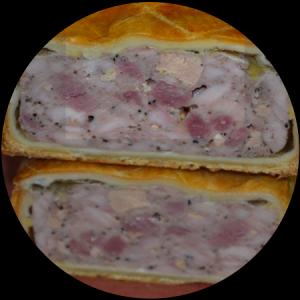 Pate en croute 3 volailles et foie gras